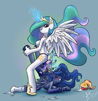 pony porn afb ebe bddd friendship magic little pony princess celestia luna atryl