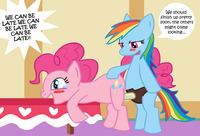 pony porn friendship magic little pony rainbow dash pinkie pie fluttershy sucking cock