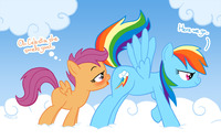 pony porn afe cbf friendship magic little pony rainbow dash scootaloo zed