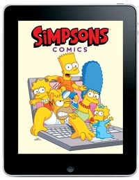 simpson porn simpson ipad sdcc simpsons comics digital comixology app