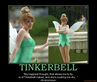 tinkerbell nude demotivational poster tinkerbell faerie pixie blowjob sexy facebookview