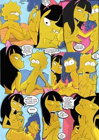 lisa simpson hentai fluffy jessica lovejoy lisa simpson marge simpsons comic simpcest entry
