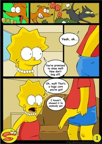 lisa simpson hentai hentai comics simpsons bart lisa