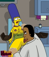 lisa simpson hentai drawn hentai julius hibbert marge simpson simpsons eploited