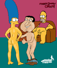 simpson hentai media original crossover glenn quagmire marge simpson simpsons hentai