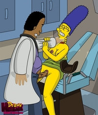 simpson hentai dfc drawn hentai julius hibbert marge simpson simpsons