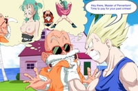 bulma naked bulma briefs dragon ball master roshi