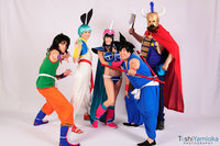 bulma naked yamcha bulma chichi goku king san japan cheekercosplay azc art