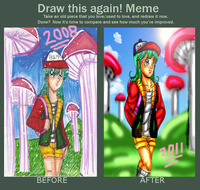 bulma naked before after meme bulma mihonosaka mif art