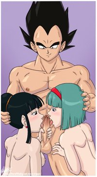 bulma naked daa bulma briefs chichi dragon ball rapps vegeta