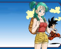 bulma naked dragonball goku bulma wallpaper dragon ball piedmontracing wallpapers evolution movie