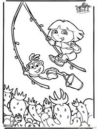 dora the explorer porn coloring pages dora explorer doratheexplorer mgpur walking page free