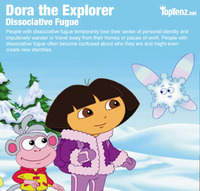 dora the explorer porn dora explorer dissociative fugue psychiatric disorder