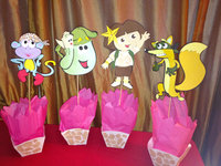 dora the explorer porn jungle dora explorer centerpieces etsy homemade