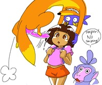 dora the explorer porn dora explorer swiper featured minus