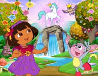 dora the explorer porn enchanted forest scene doras adventures