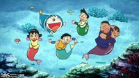 doraemon porn vault ede bdoremi hatsuyuki nobita great mermaid battle doraemon movie bba mkv entry