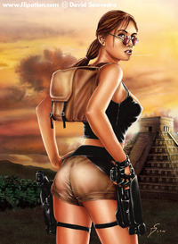lara croft hentai lara flipation boards threads chun croft popularity contest