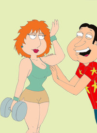 lois griffin naked lois griffin quagmire willflud fqy art