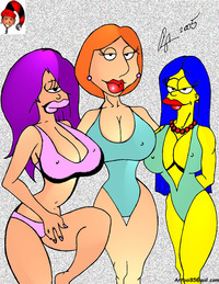 lois family guy nude fanpop lois marge lela family guy from printables