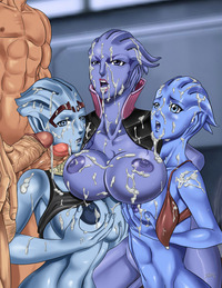 mass effect porn media original aria loak asari liara soni mass effect
