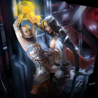 mass effect porn jack mass effect miranda lawson thriller subject zero