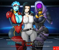 mass effect porn mass effect miranda team witchking dflfo