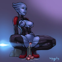 mass effect porn asari graevling mass effect