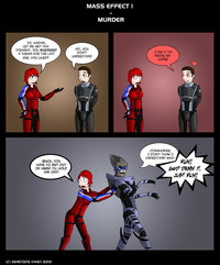 mass effect porn media original mass effect solitary murder sphynxette deviantart cartoon porn