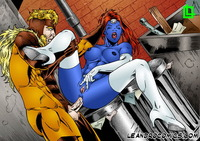 x men porn men porn show mystique sabertooth crazy