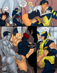 x men porn media original men porn see more strips like this iceman blue