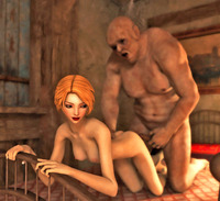 elf porn dmonstersex scj galleries naughty elf porn showing young elven sluts choking hard orc cock