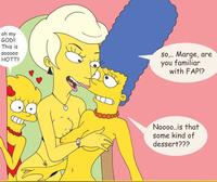 marge and lisa simpson porn media marge porn