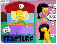 marge and lisa simpson porn simpsons lisa simpson bart jessica lovejoy cordless scorp color fluffy marge comic