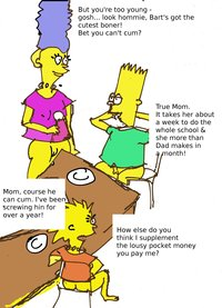 marge and lisa simpson porn bbbc bart simpson lisa marge simpsons