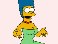 marge and lisa simpson porn busty marge simpson boobs wallpaper toons thesimpsons