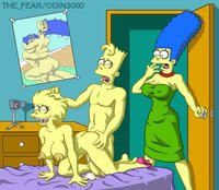 marge and lisa simpson porn bart simpson lisa marge fear simpsons odin porn fucking femalecelebrity imageweb media
