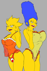 marge and lisa simpson porn media original rule lisa simpson marge tagme simpsons porn hentai more
