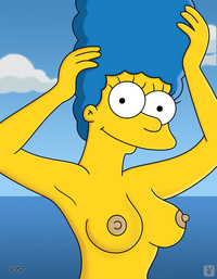 marge simpson naked marge simpson simpsons boobs monday yacht