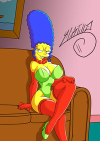 marge simpson naked sexy marge simpson swave hentai page