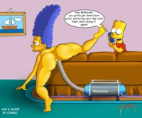 marge simpson naked bae bart simpson simpsons cosmanip tooner marge lisa suck sexy feet