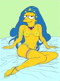 marge simpson naked marge simpson dejah thoris paulibus dkdcr art