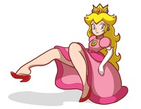 princess peach hentai bowser princess peach doesn hover atomictiki morelikethis cartoons