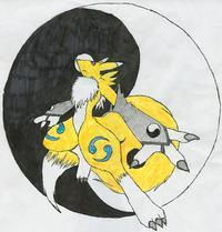 renamon porn yin yang renamon final art