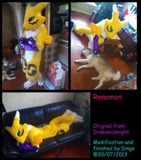 renamon porn pre renamon finished dingz art fursuit finish