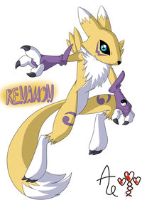 renamon porn pre renamon colored agnes art