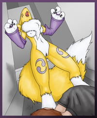 renamon porn ddd bbf acd digimon renamon forceswerwolf