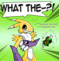 renamon porn eat renamon digital gamer giga art