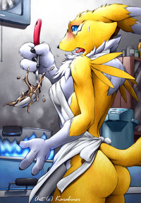 renamon porn media original digimon karabiner renamon