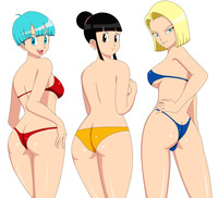 dragon ball z chi chi porn media original bulma chi android blackangel dragonball search
